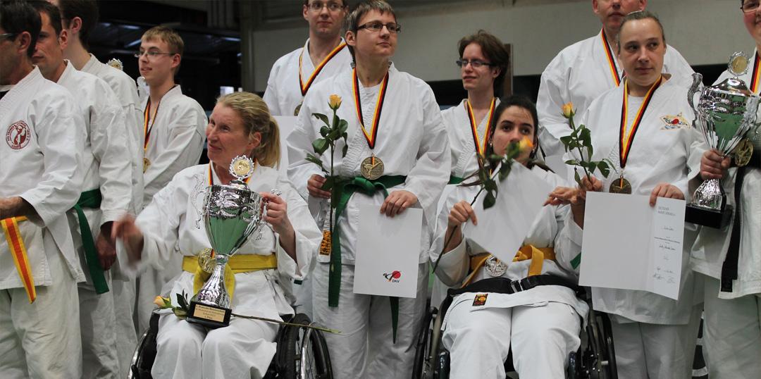 Zehlendorf Karate Andrea Preisverleihung
