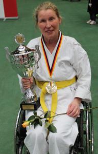 Zehlendorf Karate Andrea - 1 Platz Deutsche Meisterschaft 2013